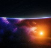 Space background. Stock Photos