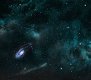 Space background. Royalty Free Stock Photo