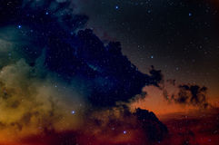 Space background. Stock Photo