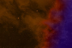 Space background. Stock Photography