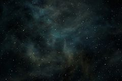 Space background with nebula and stars Stock Images