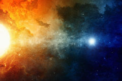Space background Stock Image