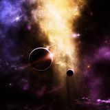 Space Background Royalty Free Stock Photography