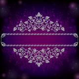Space Banner Advertisin Grape Background Royalty Free Stock Image