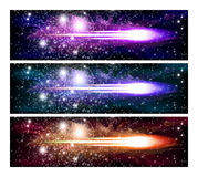 Space banners Royalty Free Stock Photography