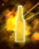 Space beer Royalty Free Stock Photo