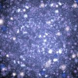 Space blizzard, fractal generated background Royalty Free Stock Photo