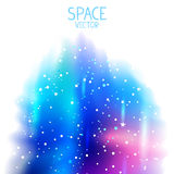 Space blue background Stock Images