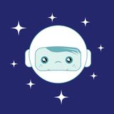Space boy Stock Images