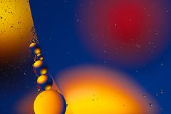 Space of bubbles balls abstraction background for web design and greeting cards.  Stock Photo