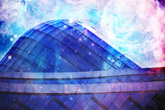 Space buildings Stock Photography