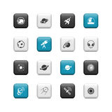 Space buttons Royalty Free Stock Photography