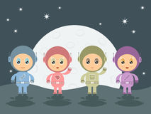 Space cadets Royalty Free Stock Image