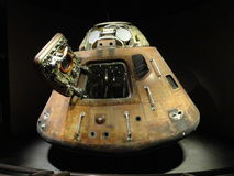 Space capsule. A space capsule on display at NASA Royalty Free Stock Photography