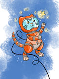 Space cat Stock Photos