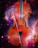 Space Cello Stock Photo