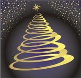 Space Christmas Tree Royalty Free Stock Photos