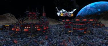 Space city Stock Photos