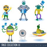 Space collection 3 Stock Photos