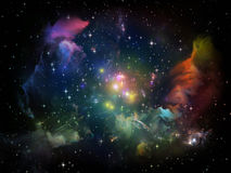 Space Composition Royalty Free Stock Photo