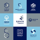 Space concept architecture logo Stock Photography