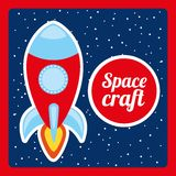 Space craft design Stock Photos