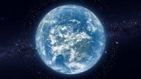 Space debris waste