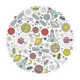 Space design element Stock Image