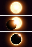 Space Eclipse Banners Stock Photography