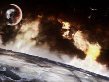 Space Environment Royalty Free Stock Image