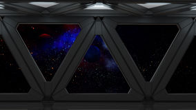 Space environment, ready for comp of your characters.3D render Stock Photography