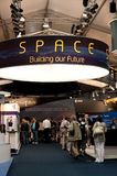 Space exhibition Stock Image