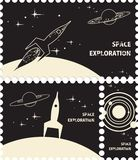 Space exploration Stock Image