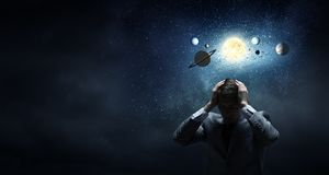 Space exploration Stock Photography