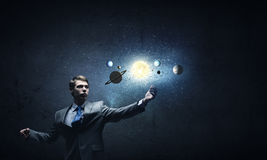 Space exploration Royalty Free Stock Image