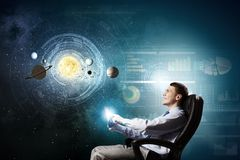 Space exploration Royalty Free Stock Images