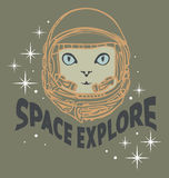Space explore Royalty Free Stock Image