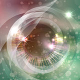 The space eye Royalty Free Stock Photos