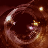The space eye in red Stock Photography