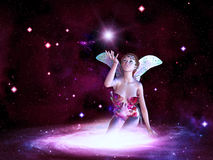 Space Fairy Stock Photography