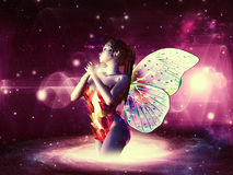 Space fairy Stock Photo
