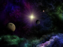 Space fantasy Stock Image