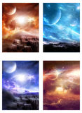Space fantasy Royalty Free Stock Images