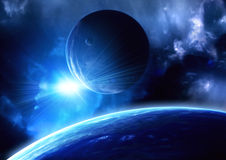 Space flare Stock Images