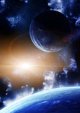Space flare Stock Photo