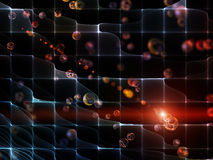 Space Fluctuation Stock Images