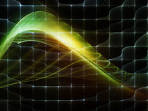 Space Fluctuation Royalty Free Stock Photography