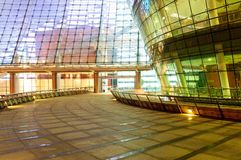 The space in front of the modern architecture. The space in front of the hangzhou modern architecture Royalty Free Stock Photography