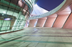 The space in front of the modern architecture. The space in front of the hangzhou modern architecture Stock Photography