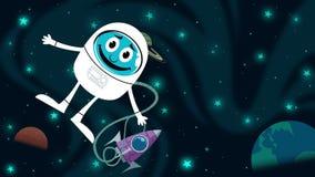 Space Fun stock video